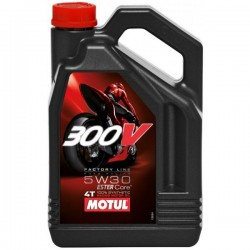Motul Oil 300V Factory Line Road Racing 5W30 4L