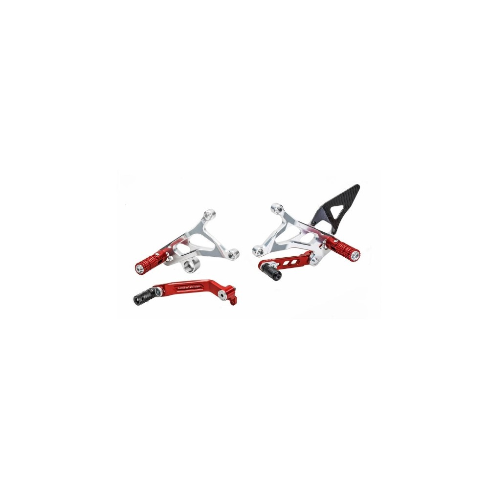 CNC RACING ADJUSTABLE REAR SETS LIMITED EDITION PE226RS