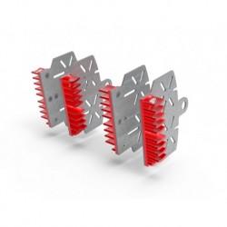 Red Brake Plate Radiator...