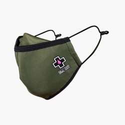 """MUC-OFF FACE MASK GREEN """"S"""""""