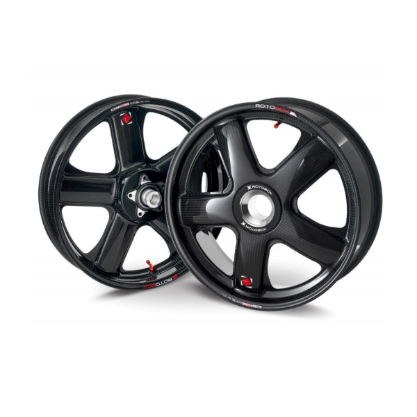 Complete range of carbon wheels for MV Agusta Rivale