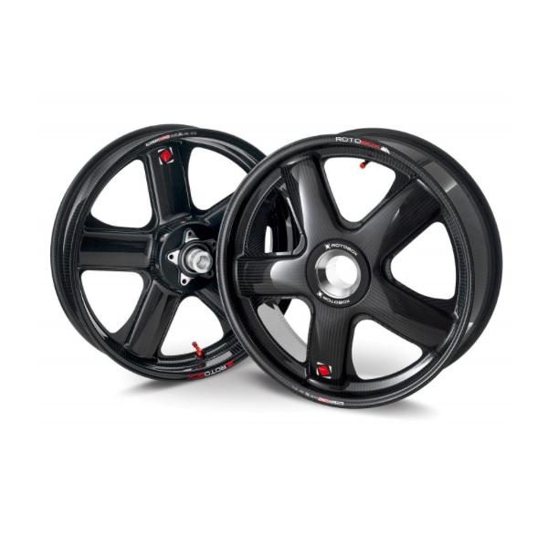 Complete range of carbon wheels for MV Agusta Dragster