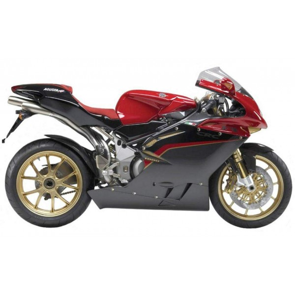 Accessories, carbon fiber, exhaust and rims for MV F4
