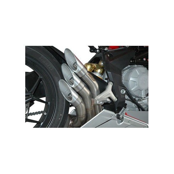 Complete and wide variety of exhausts for MV Agusta F3