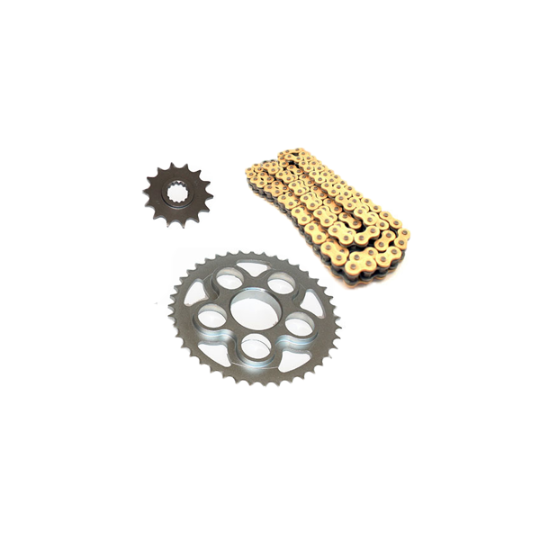 Chain, carrier and transmission kit for MV Agusta B4